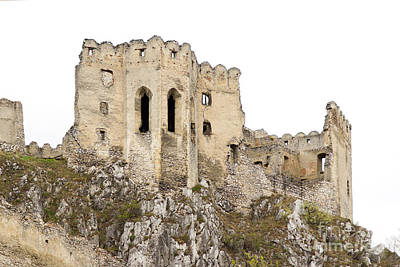 Photograph - Hrad Beckov Castle by Les Palenik