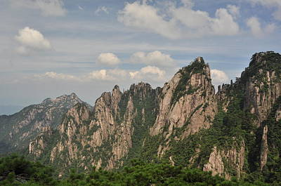 Photograph - Huangshan Granite 2 by Jason Chu