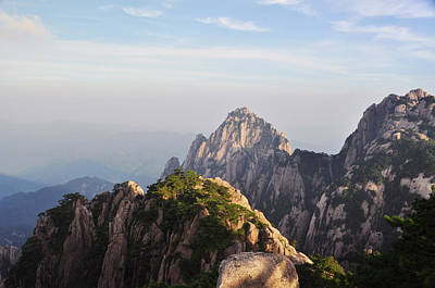 Photograph - Huangshan Morning by Jason Chu