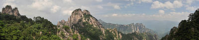 Photograph - Huangshan Panorama 2 by Jason Chu