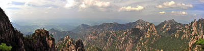 Photograph - Huangshan Panorama 3 by Jason Chu