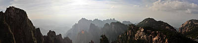 Photograph - Huangshan Panorama 4 by Jason Chu