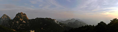 Photograph - Huangshan Panorama 5 by Jason Chu