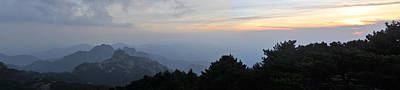 Photograph - Huangshan Panorama 6 by Jason Chu