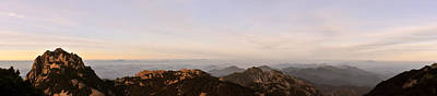Photograph - Huangshan Sunrise Panorama 2 by Jason Chu
