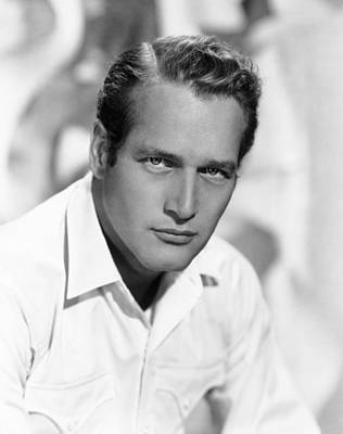 1963 Movies Photograph - Hud, Paul Newman, 1963 by Everett