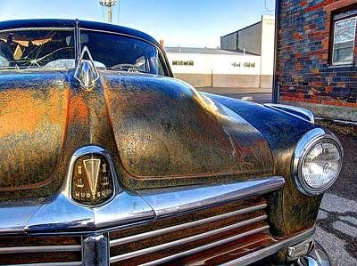 Photograph - Hudson Hornet by HW Kateley