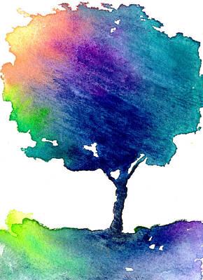 Pride Painting - Hue Tree IIi by Brazen Edwards