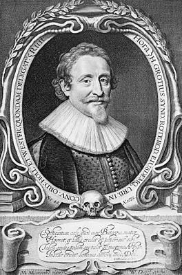 Hugo Grotius (1583-1645) Art Print