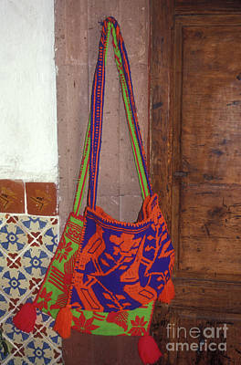 Photograph - Huichol Bags by John  Mitchell