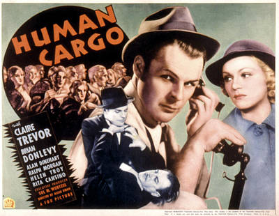 Human Cargo, Brian Donlevy, Claire Art Print by Everett