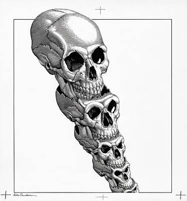 Human Evolution, Artwork Art Print