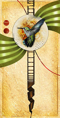 Humming Art Print by Joshua Dixon
