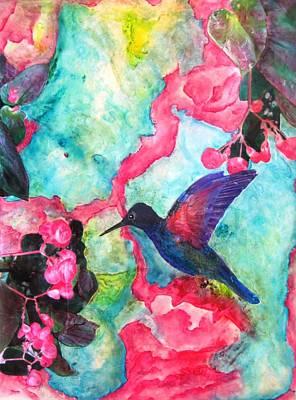 Hummingbird Heaven Original by David Raderstorf
