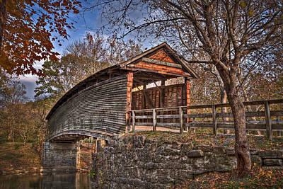 Va Photograph - Humpback Bridge by Williams-Cairns Photography LLC