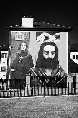 Hunger Strike Mural Derry Bogside Art Print