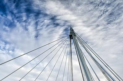 Hungerford Footbridge Original by Vinicios De Moura