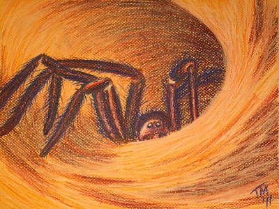 Painting - Hunter In Hiding by Thomas Maynard