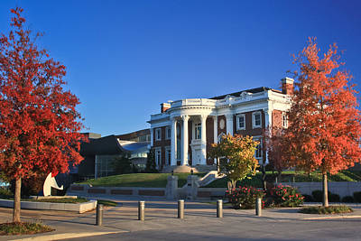 Photograph - Hunter Museum In Autumn by Tom and Pat Cory