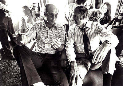 Hunter S. Thompson And George Mcgovern Print by Everett