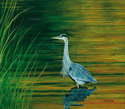 Hunting At Sunrise Art Print by John Brown