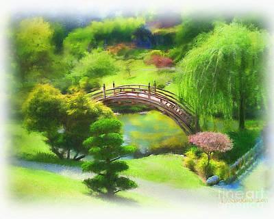 Weeping Mixed Media - Huntington Botanical Gardens by Dawn Serkin