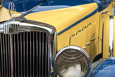 Photograph - Hupmobile Grille by Dennis Hedberg
