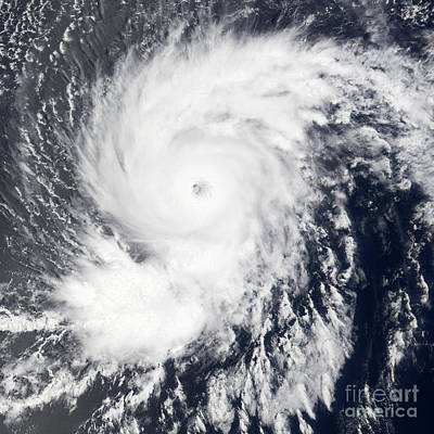 Photograph - Hurricane Flossie by Nasa