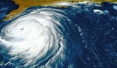 Noaa Photograph - Hurricane Floyd by Nasagoddard Space Flight Center