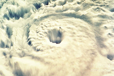 Of Hurricanes Photograph - Hurricane by Fritz Hasler & Hal Pierce / Science Source