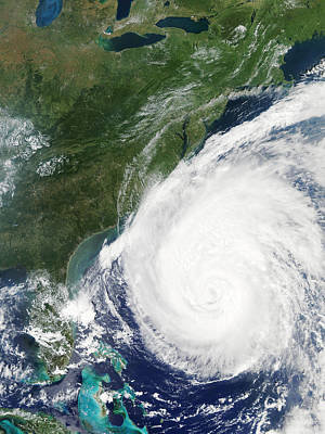 Hurricane Isabel, 17th September 2003 Art Print by Nasa