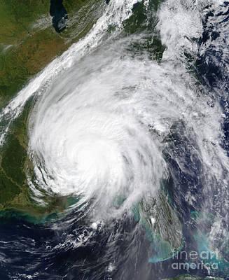 Hurricane Ivan Art Print