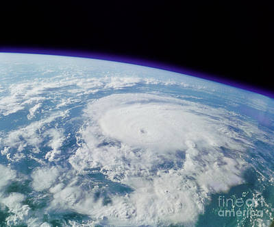 Of Hurricanes Photograph - Hurricane by NASA / Science Source