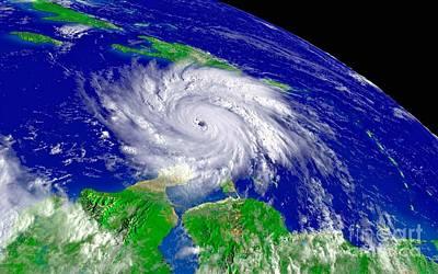 Noaa Photograph - Hurricane by Padre Art