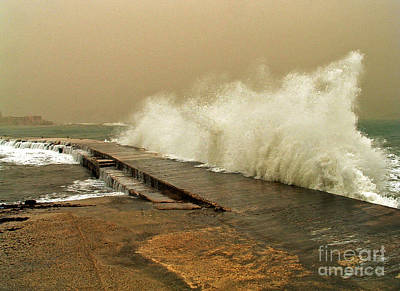 Photograph - Hurricane Waves by Mary Attard