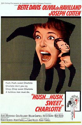 Horror Movies Photograph - Hush...hush, Sweet Charlotte, Center by Everett