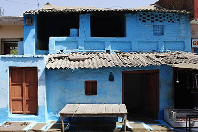 Photograph - Hut In An Indian Village by Sumit Mehndiratta
