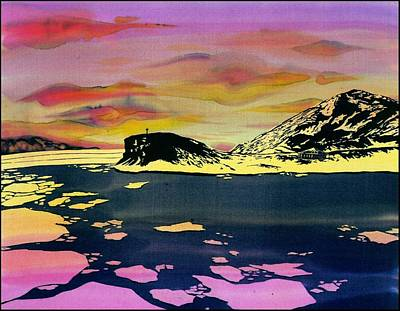 Hut Point Antarctica Art Print by Carolyn Doe