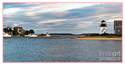 Photograph - Hyannisport At Sunset by Joan  Minchak