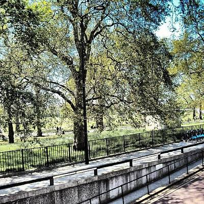 #hydepark #hydeparkcorner #london2012 Art Print