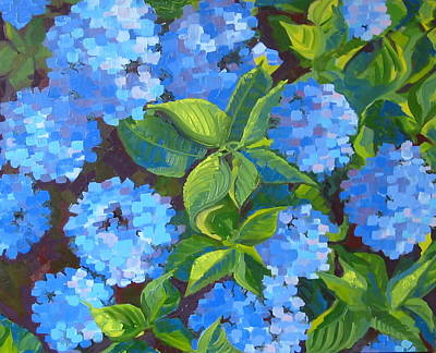 Painting - Hydrangea by Sarah Gayle Carter