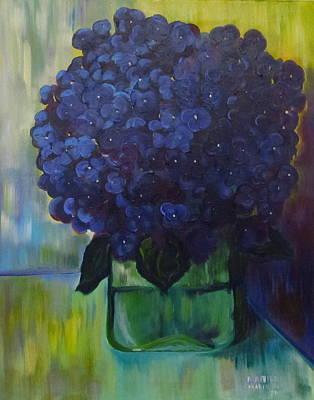 Hydrangeas Art Print by Dani Altieri Marinucci