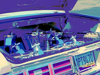 Tricked-out Cars Photograph - Hydraulics Three by Chuck Re