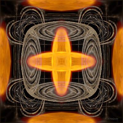 Hydrogen Fusion Art Print by Joe Halinar