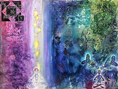 Veneta Painting - Hydrogen by Paul Brink
