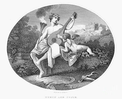 Hymen And Cupid Art Print by Granger