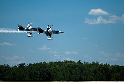 Photograph - I 39 Fighter Jets by Paul Mangold