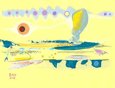 Valuable Drawing - I Am Curious Yellow by Ralf Schulze