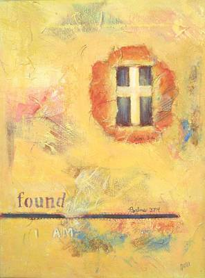 Painting - I Am Found by Joanna Gates