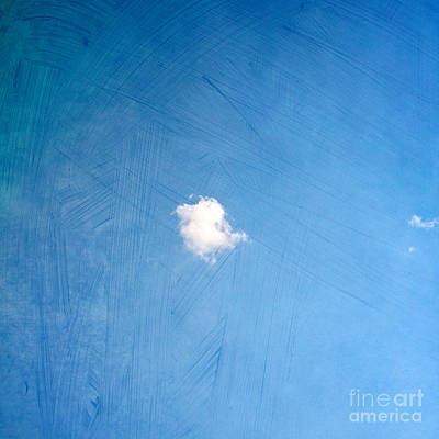 Clouds Photograph - I Am One by Violet Gray